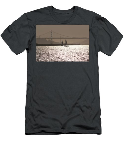 Oakland Bay Bridge IIi Men's T-Shirt (Athletic Fit)