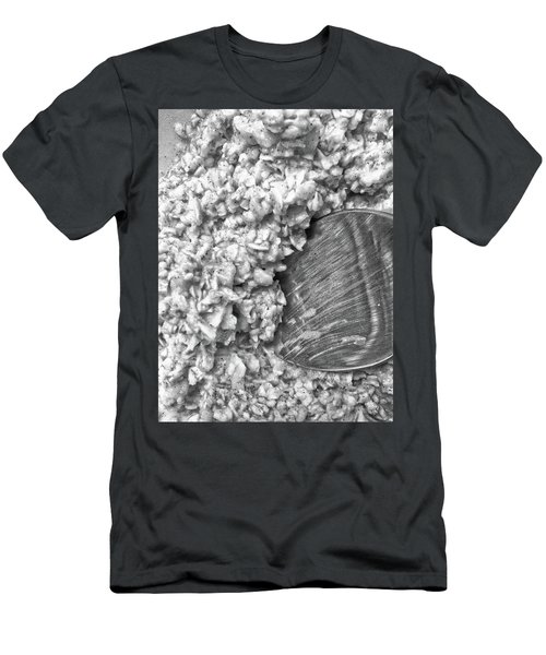 Men's T-Shirt (Athletic Fit) featuring the photograph Oatmeal by Robert Knight