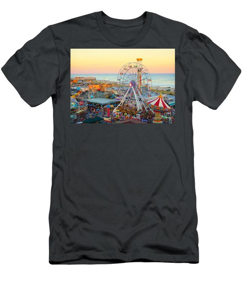 Ocean City New Jersey Boardwalk And Music Pier Men's T-Shirt (Athletic Fit)