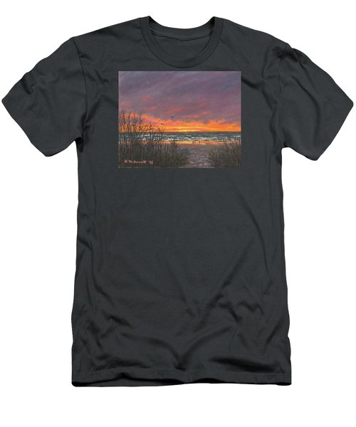 Ocean Daybreak # 2 Men's T-Shirt (Athletic Fit)