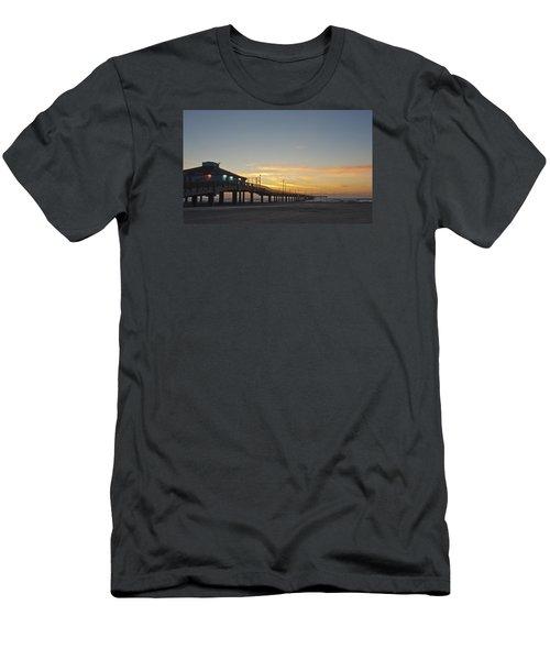Ocean Pier Men's T-Shirt (Athletic Fit)