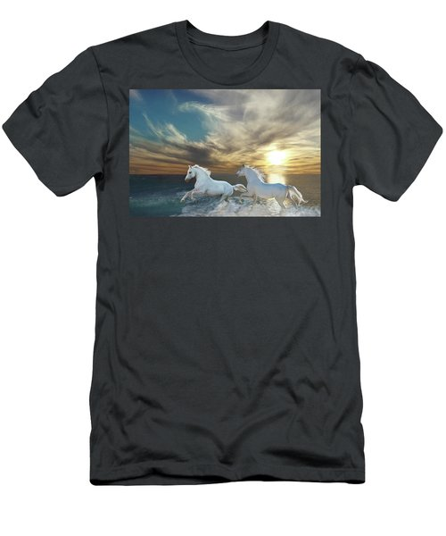 Ocean Play Men's T-Shirt (Athletic Fit)
