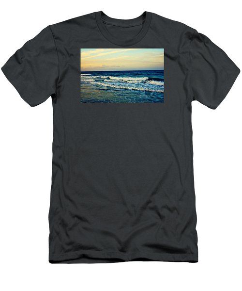 Ocean Men's T-Shirt (Slim Fit) by Artists With Autism Inc
