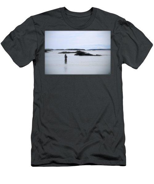 Ocean Solitude Men's T-Shirt (Athletic Fit)