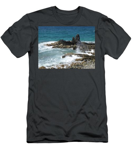 Ocean Spray Mid-air Men's T-Shirt (Athletic Fit)