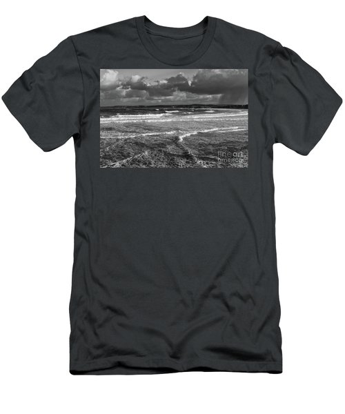 Ocean Storms Men's T-Shirt (Athletic Fit)