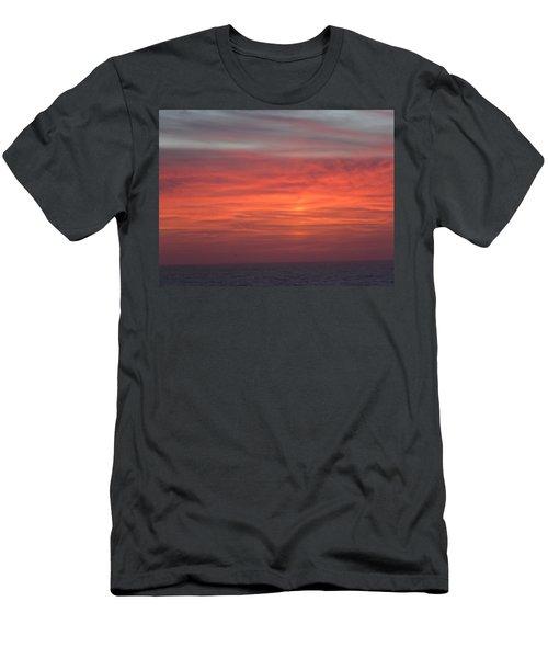 Ocean Sunrise Men's T-Shirt (Slim Fit) by Kathy Long