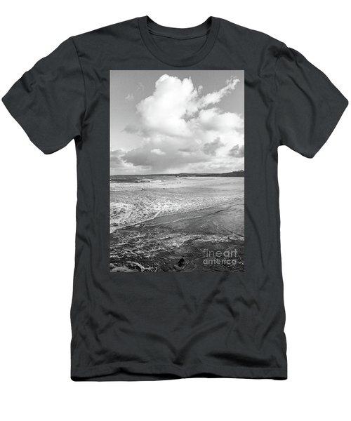 Ocean Texture Study Men's T-Shirt (Slim Fit) by Nicholas Burningham