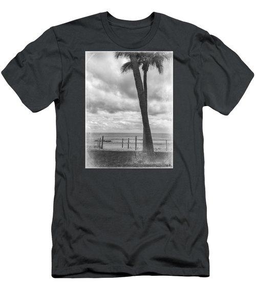 Ocean View Men's T-Shirt (Slim Fit) by Arlene Carmel