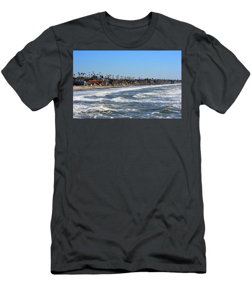 Men's T-Shirt (Athletic Fit) featuring the photograph Oceanside by AJ Schibig
