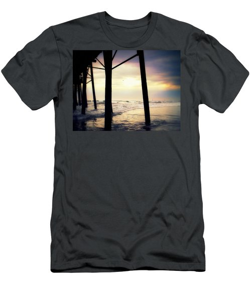 Men's T-Shirt (Slim Fit) featuring the photograph Oceanside - Late Afternoon by Glenn McCarthy