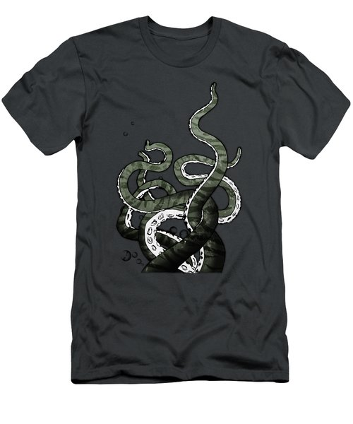 Octopus Tentacles Men's T-Shirt (Athletic Fit)