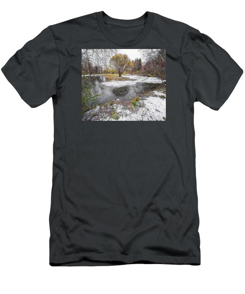October 2 Men's T-Shirt (Slim Fit) by Vladimir Kholostykh