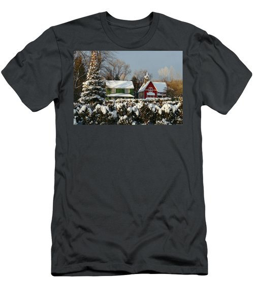 October Snow Men's T-Shirt (Athletic Fit)