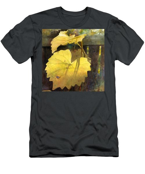 Men's T-Shirt (Athletic Fit) featuring the painting October Sunday by Andrew King