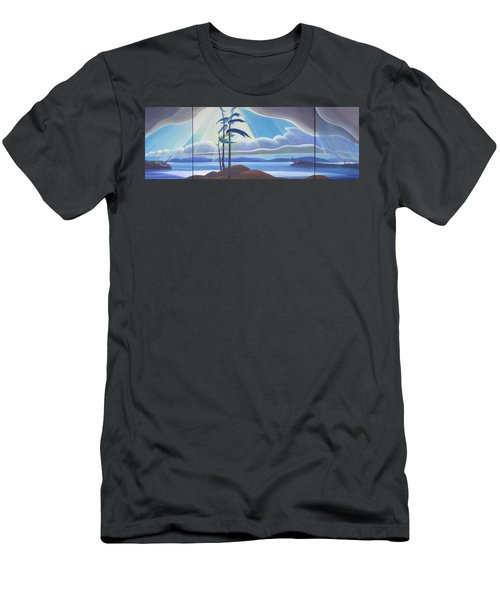 Ode To The North II Men's T-Shirt (Athletic Fit)