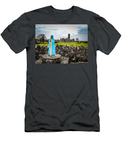 Official Greeter At Ireland's Quin Abbey National Monument Men's T-Shirt (Athletic Fit)