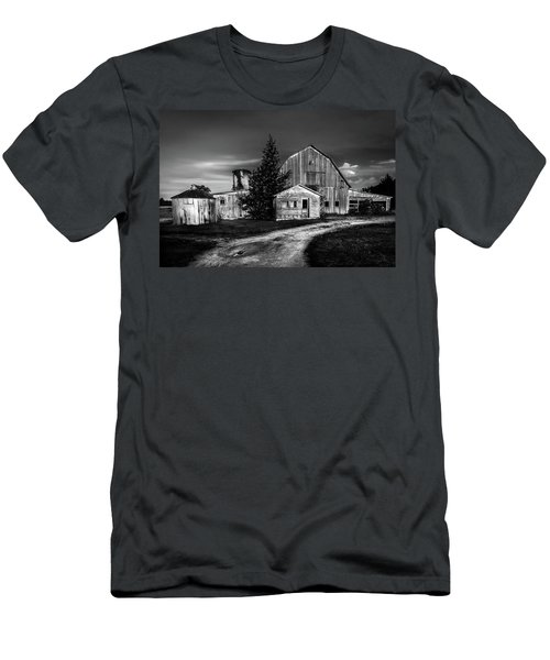 Ohio Barn At Sunrise Men's T-Shirt (Athletic Fit)