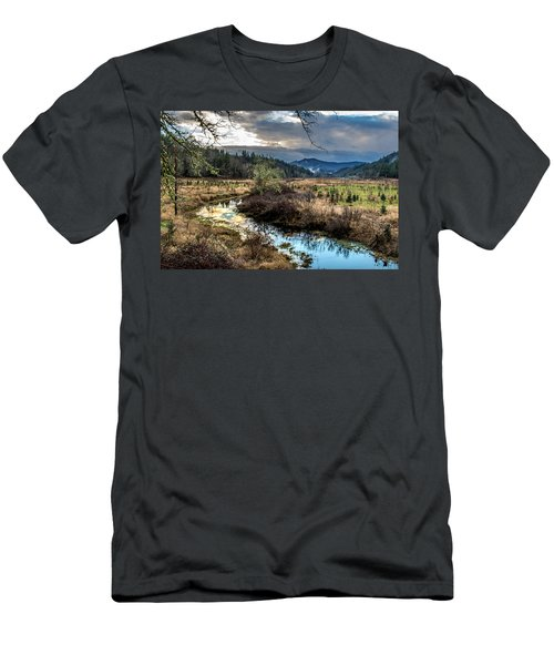 Ohop Creek Men's T-Shirt (Athletic Fit)