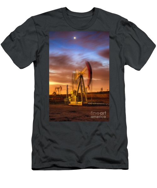 Oil Rig 1 Men's T-Shirt (Athletic Fit)