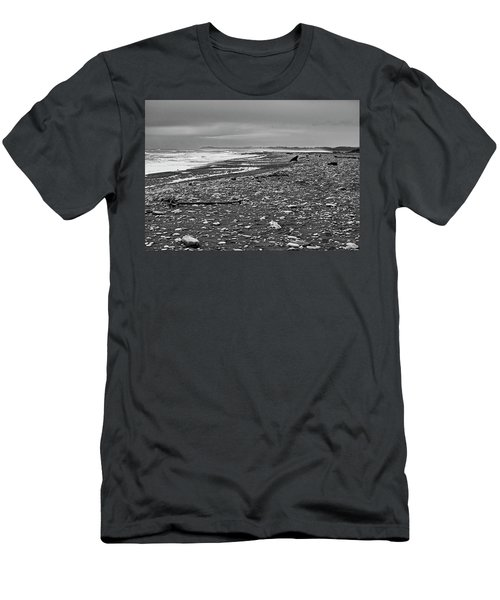 Men's T-Shirt (Athletic Fit) featuring the photograph Okarito Beach - New Zealand by Steven Ralser