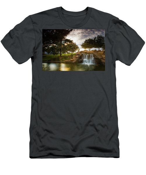 Okc Riverwalk Men's T-Shirt (Athletic Fit)