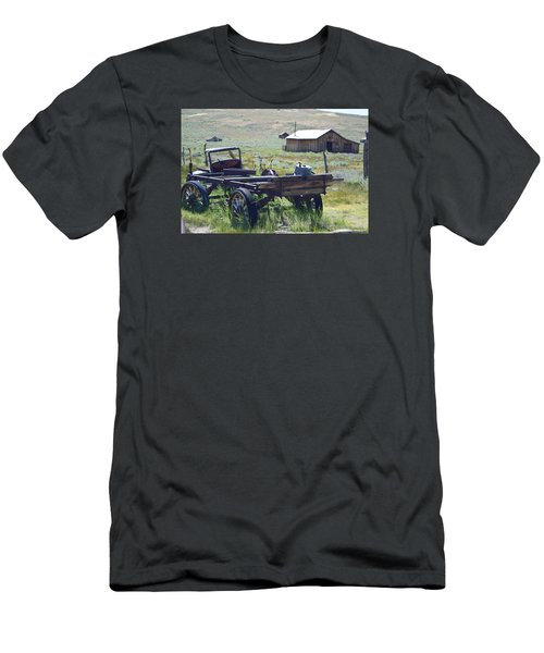 Old Bodie Wagon Men's T-Shirt (Athletic Fit)
