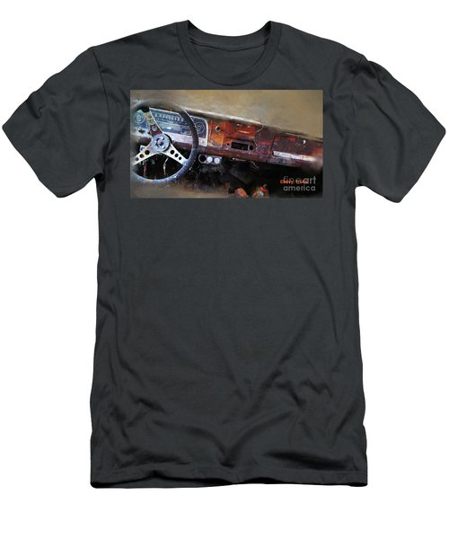 Men's T-Shirt (Athletic Fit) featuring the digital art Old Chevy 2016 by Kathryn Strick