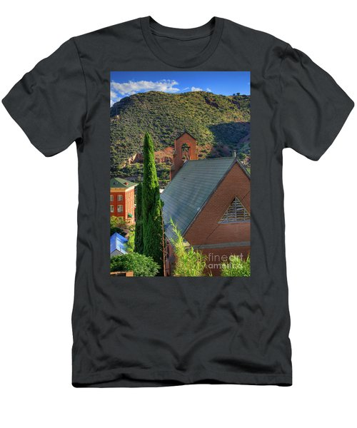 Old Church In Bisbee Men's T-Shirt (Athletic Fit)
