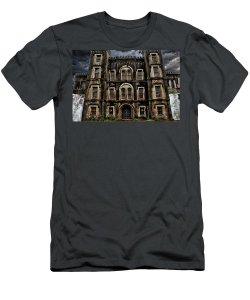 Old City Jail Men's T-Shirt (Athletic Fit)