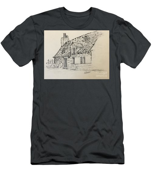 Old Cottage Men's T-Shirt (Athletic Fit)