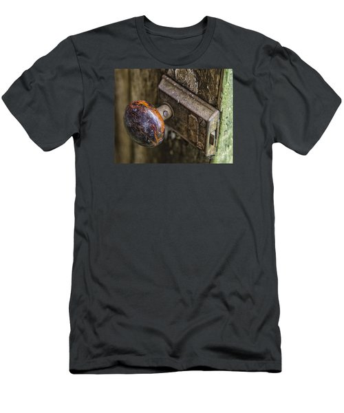 Old Door Knob Men's T-Shirt (Slim Fit) by JRP Photography