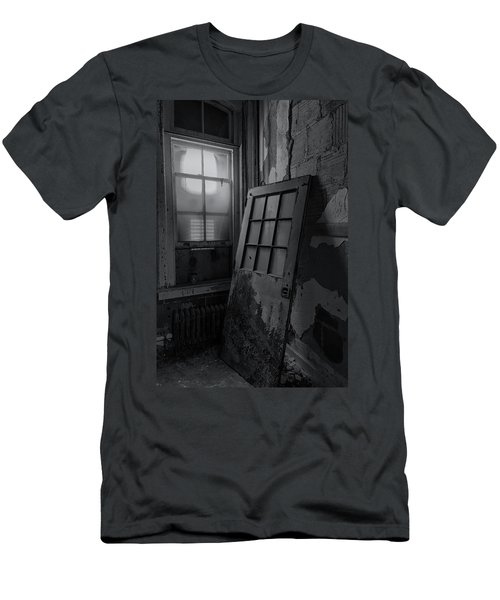 Men's T-Shirt (Athletic Fit) featuring the photograph Old Door by Tom Singleton
