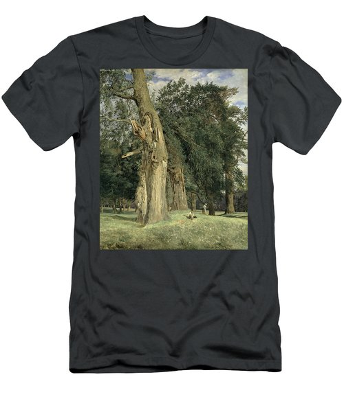 Old Elms In Prater Men's T-Shirt (Athletic Fit)