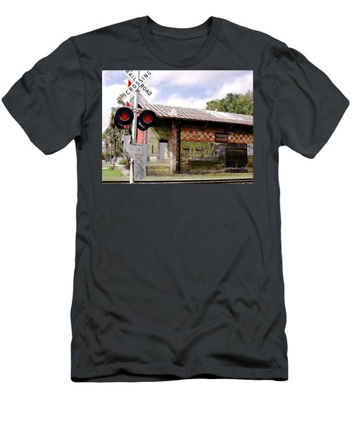 Old Freight Depot Perry Fl. Built In 1910 Men's T-Shirt (Athletic Fit)