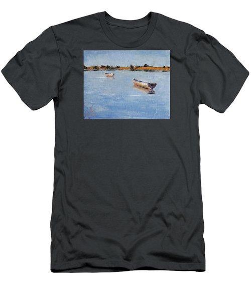 Old Friends Men's T-Shirt (Slim Fit) by Trina Teele