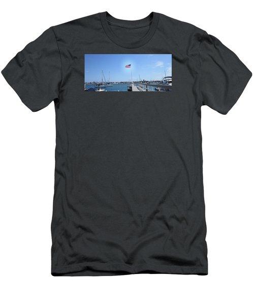 Old Glory 2 Men's T-Shirt (Slim Fit) by Dan Twyman