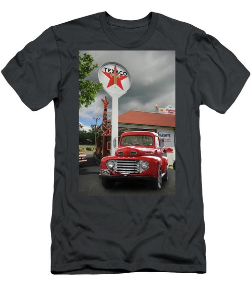 Men's T-Shirt (Slim Fit) featuring the photograph Old Guys Rule by Lori Deiter