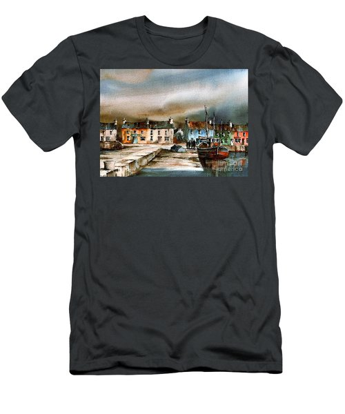 Old Harbour Dingle, Kerry Men's T-Shirt (Athletic Fit)