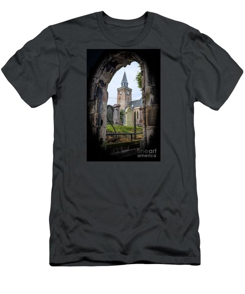 Old High St. Stephen's Church Men's T-Shirt (Slim Fit) by Amy Fearn
