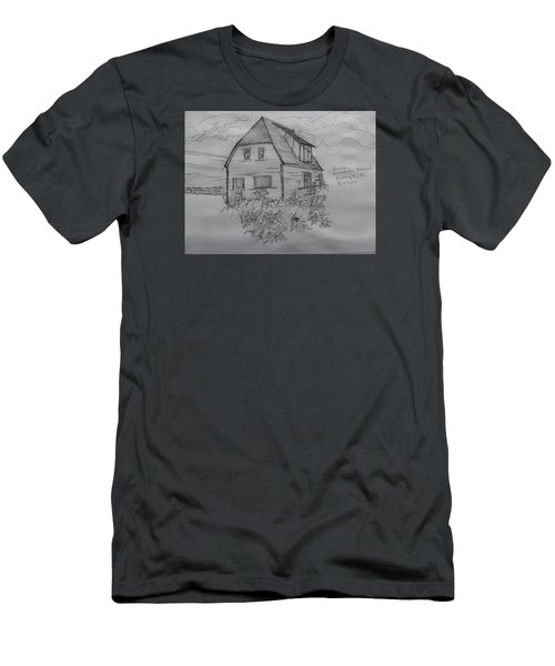 Old House In Raleigh Men's T-Shirt (Athletic Fit)