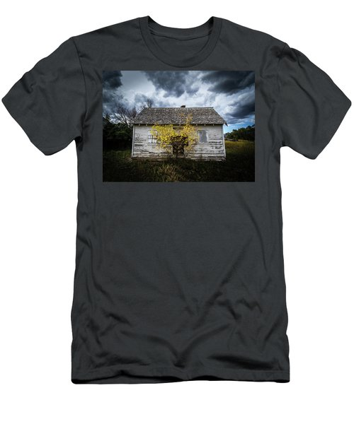 Men's T-Shirt (Athletic Fit) featuring the photograph Old House by Wesley Aston