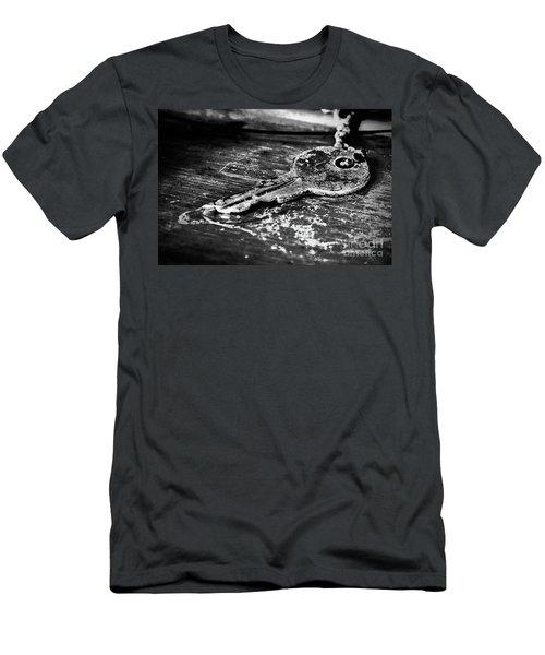 Old Key Men's T-Shirt (Athletic Fit)