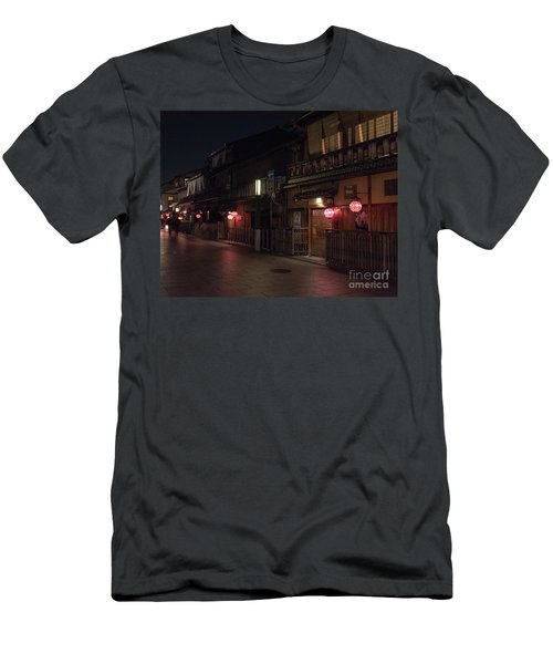 Old Kyoto Lanterns, Gion Japan Men's T-Shirt (Athletic Fit)