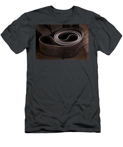 Old Machine Belt Men's T-Shirt (Slim Fit) by Tom Singleton