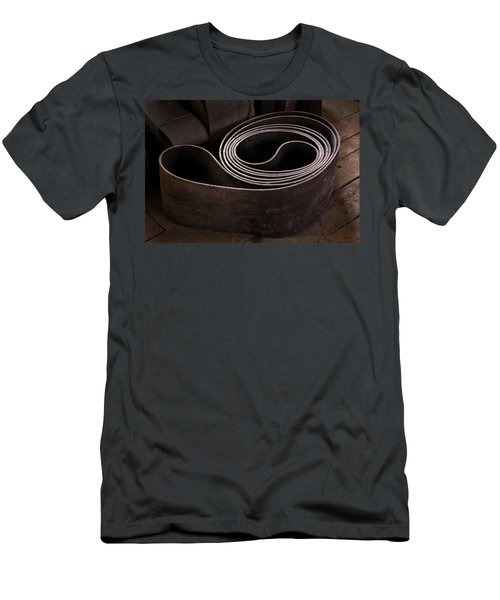Old Machine Belt Men's T-Shirt (Athletic Fit)