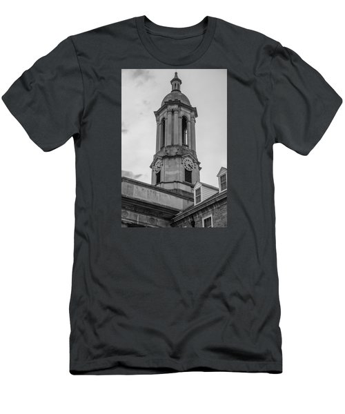 Old Main Tower Penn State Men's T-Shirt (Slim Fit) by John McGraw