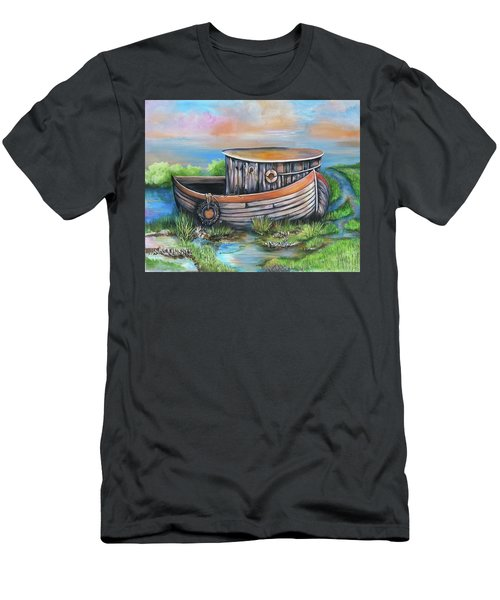 Old Mans Boat Men's T-Shirt (Athletic Fit)