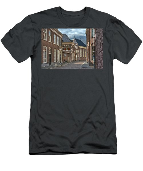 Old Meets New In Zwolle Men's T-Shirt (Athletic Fit)