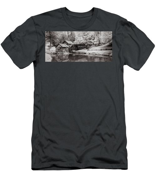 Old Mill On The Mountain Men's T-Shirt (Athletic Fit)